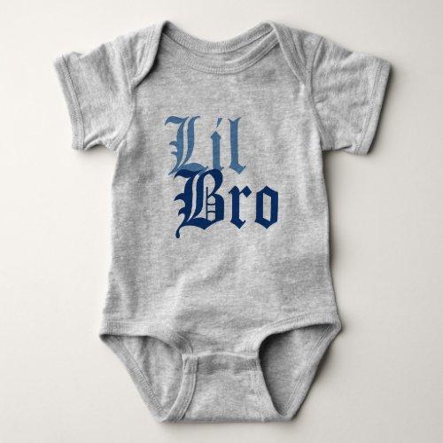 Lil Bro Baby Bodysuit