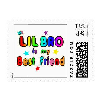 Lil Bro Best Friend Postage Stamp
