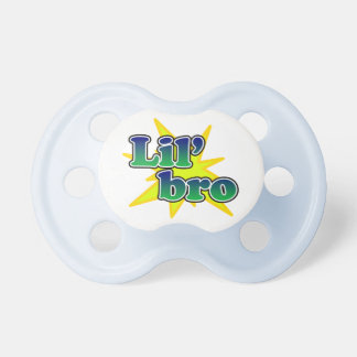 Lil' Bro, Blue Little Brother Pacifier