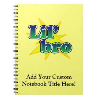 Lil Bro Spiral Notebooks