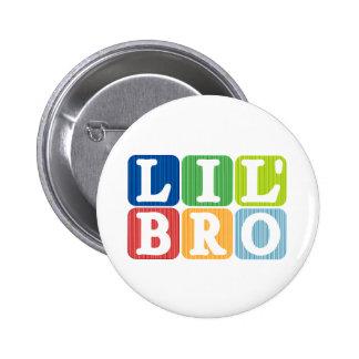 Lil bro pinback button