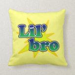 Lil Bro Throw Pillow