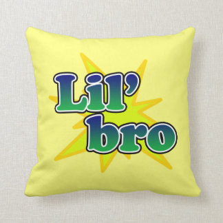 Lil Bro Throw Pillow