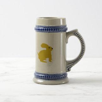 Lil Brown Bunny Rabbit Beer Stein