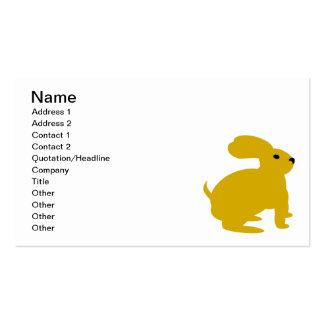 Lil Brown Bunny Rabbit Business Card