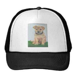 Li'l Brown Puppy Painting Trucker Hat