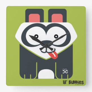 Lil' Buddies - panda clock