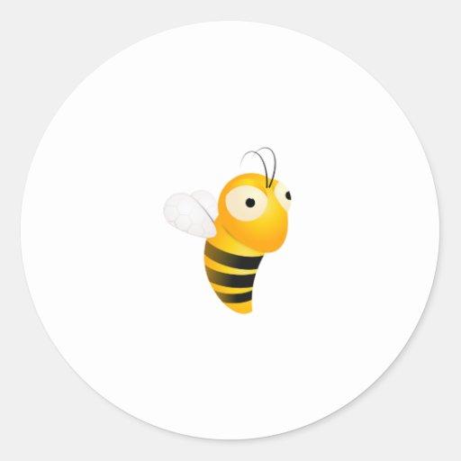 Lil' Bumble Bee Round Sticker