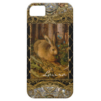 Lil Bunny in the Garden Monogram iPhone SE/5/5s Case
