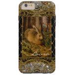 Lil Bunny in the Garden Monogram Plus Tough iPhone 6 Plus Case