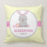 Lil Bunny (pink) Pillow