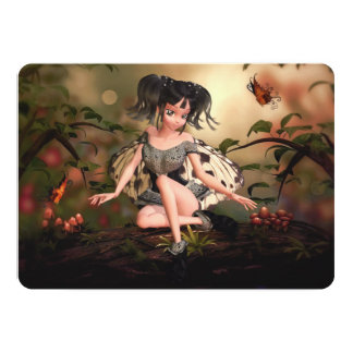 Li'l Butterfly Faerie Invite (customizable)