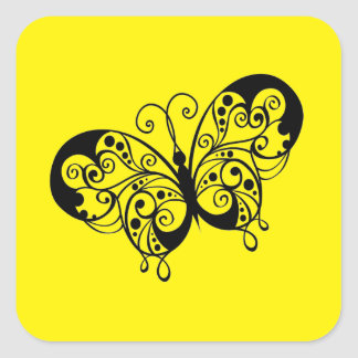 Lil Butterfly Square Sticker