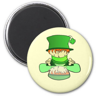 Lil Charmer 2 Inch Round Magnet
