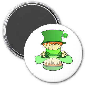 Lil Charmer 3 Inch Round Magnet