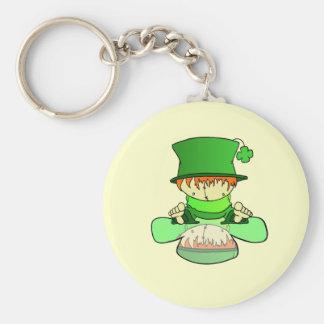 Lil Charmer Basic Round Button Keychain
