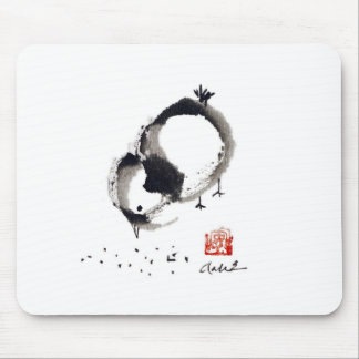Lil Chick, Sumi-e by Andrea Erickson Mouse Pad