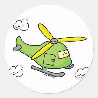 Lil Chopper Classic Round Sticker