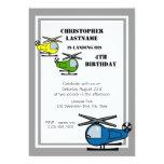 Lil' Chopper Grey Invites