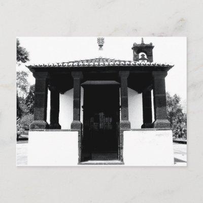 Lil Church in Funchal, Portugal Postcard postcard