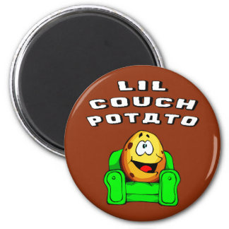 Lil Couch Potato Magnet