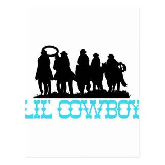 Lil Cowboy Postcard