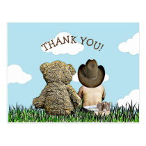 Lil Cowboy Thank You Notes