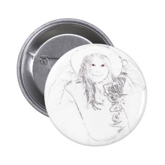 Lil Cowgirl Gifts Tees Button
