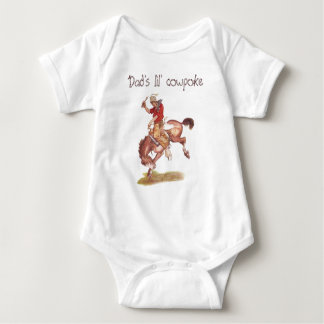 Lil' cowpoke baby bodysuit