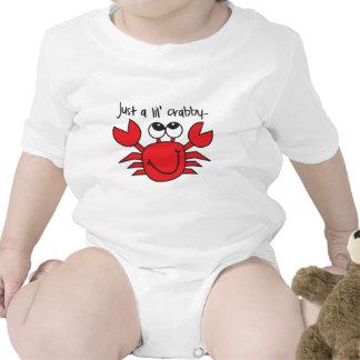 Lil' Crabby Baby Bodysuits