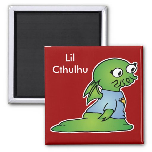 Lil Cthulhu Magnets