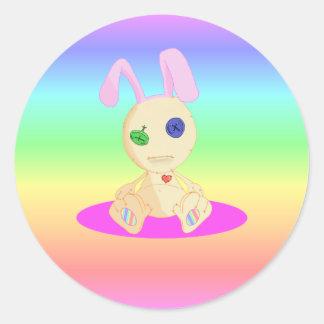 Lil Cushy Bunny Classic Round Sticker