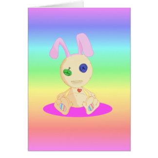 Lil Cushy Bunny  Happy Easter Card