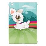 Lil Deerie blanco - mini caso del iPad de encargo iPad Mini Cobertura