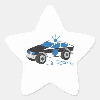 L'il Deputy Star Sticker