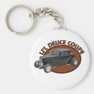 Li'l Deuce Coupe Basic Round Button Keychain