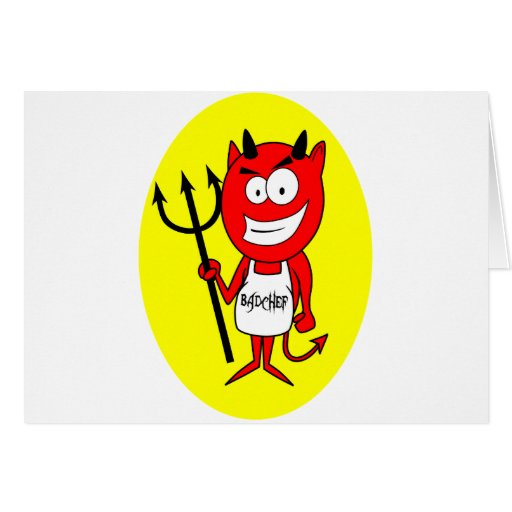 Lil Devil Badchef Card