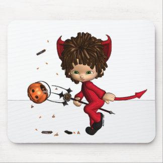 lil' Devil Halloween Mousepad