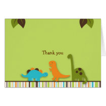 Lil Dino Dinoaur Thank You Note Cards