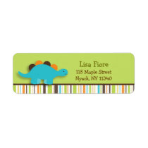 Lil Dino Dinosaur Address Labels