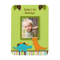 Lil Dino Dinosaur Photo Magnet Party Favor