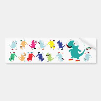Lil Dino Lizards Bumper Sticker