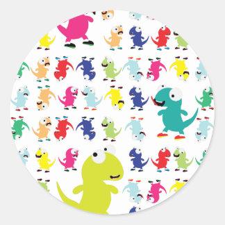 Lil Dino Lizards Stickers