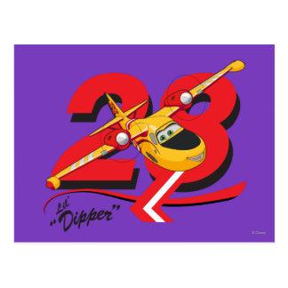 Lil' Dipper Character Art Postcard