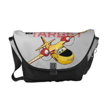 Lil' Dipper On Target Graphic Courier Bag at Zazzle