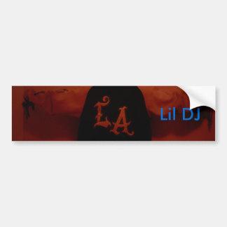 lil dj's bumper sticker