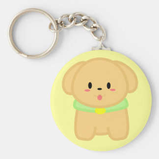 Lil' Doggy - Butterschotch Keychain