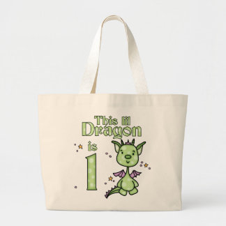 Lil Dragon 1st Birthday Bags