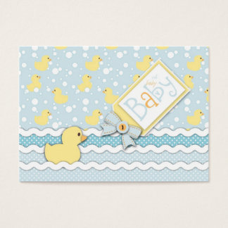 Lil' Duckling Reminder Notecard Business Card