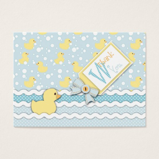 Lil' Duckling TY Gift Tag
